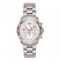 TRASER H3 CLASSIC LADYTIME SILVER CHRONO 100279 EDELSTAHL...